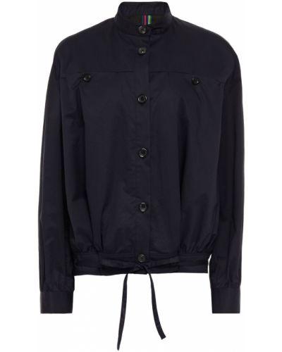 Хлопковая ватная синяя куртка Ps Paul Smith
