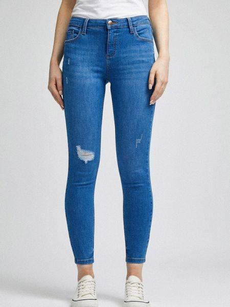Синие джинсы-скинни с пайетками Dorothy Perkins