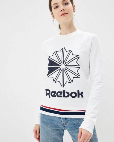 Белый свитшот Reebok Classics