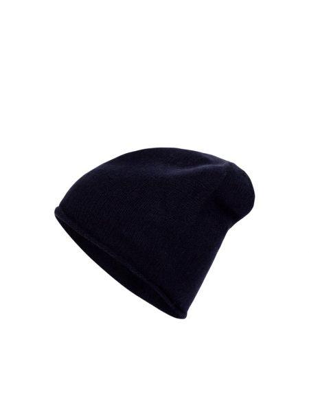 Niebieski kaszmir czapka baseballowa Mcneal
