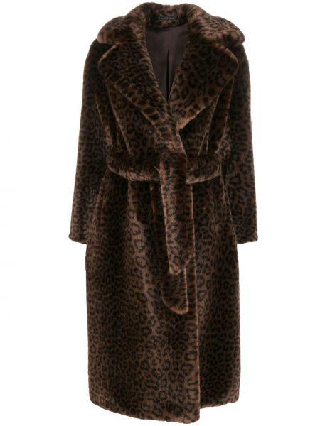 Пальто с запахом с воротником Tagliatore
