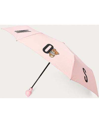 Parasol - różowy Moschino