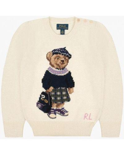 Бежевый свитер Polo Ralph Lauren