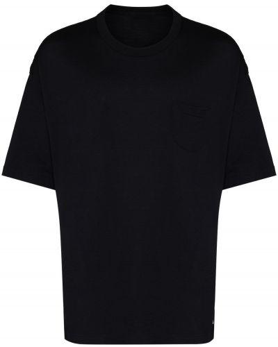 Niebieska t-shirt wełniana Visvim