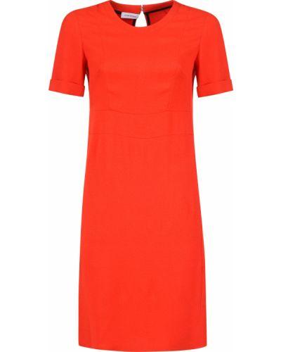 Платье из вискозы - красное Costume National