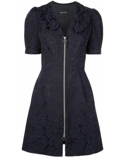 Платье с V-образным вырезом с кружевными рукавами Jill Jill Stuart