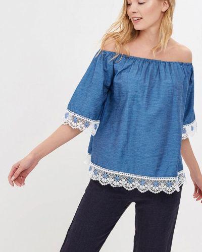 Синяя блузка By Swan