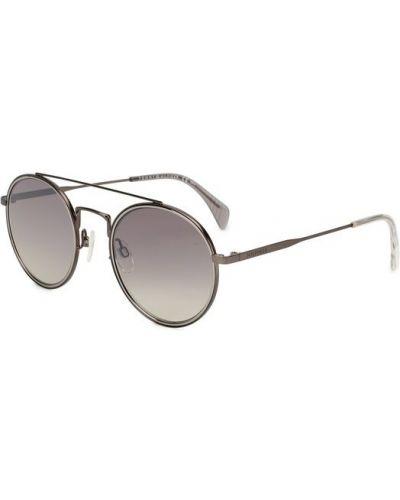Серые солнцезащитные очки Tommy Hilfiger
