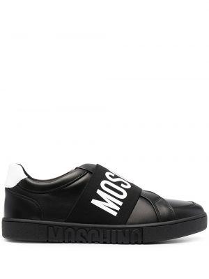 Sneakersy, czarny Moschino