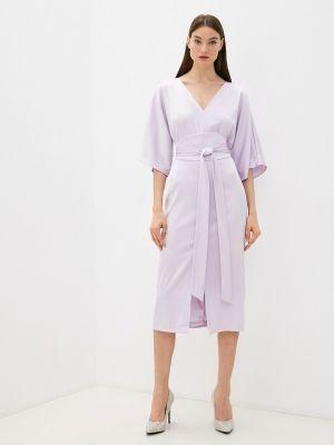 Прямое платье - розовое Seam