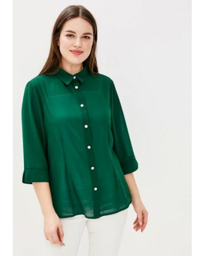 Зеленая блузка Fresh Cotton