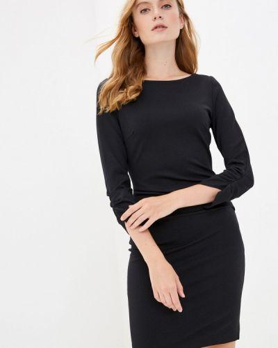 Черное платье-футляр Rinascimento