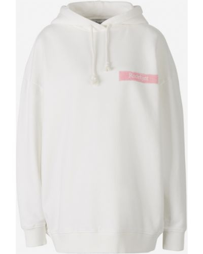 Biała bluza dresowa Rodebjer