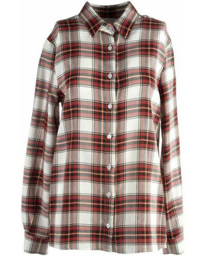 Czerwona koszula Stella Jean