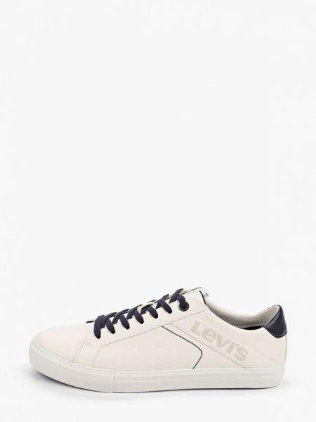 Белые кожаные кроссовки Levi's®
