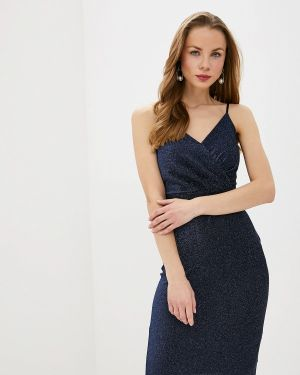Вечернее платье осеннее синее Love Republic