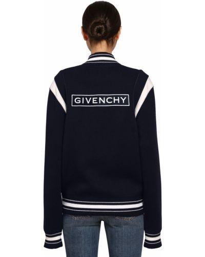 Kurtka z kieszeniami z haftem Givenchy