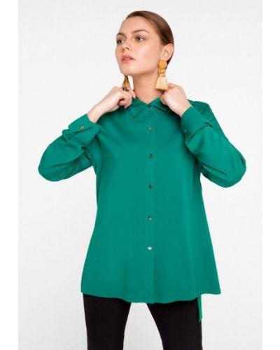 Блузка зеленый Solou