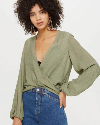 Блузка с длинным рукавом осенняя Topshop