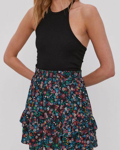 Spódnica mini rozkloszowana z falbanami w kwiaty Jacqueline De Yong