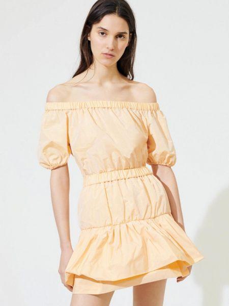 Платье с открытыми плечами весеннее Maje