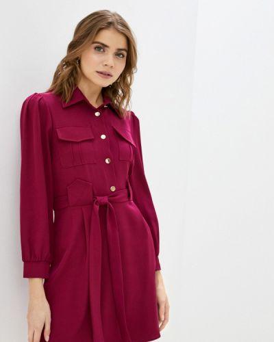 Фиолетовое платье-рубашка Rinascimento