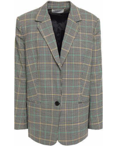 Шерстяной черный пиджак с карманами Ba&sh