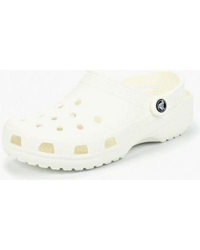 Сабо белые итальянский Crocs