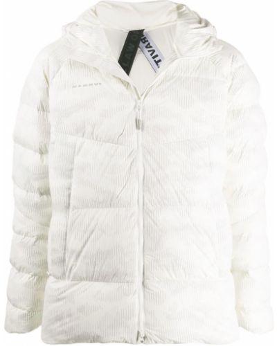 Белая стеганая куртка Mammut Delta X