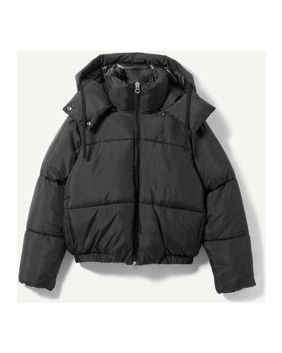 Куртка на молнии - черный Weekday