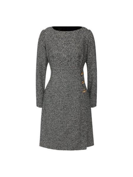 Платье мини на пуговицах классическое Escada