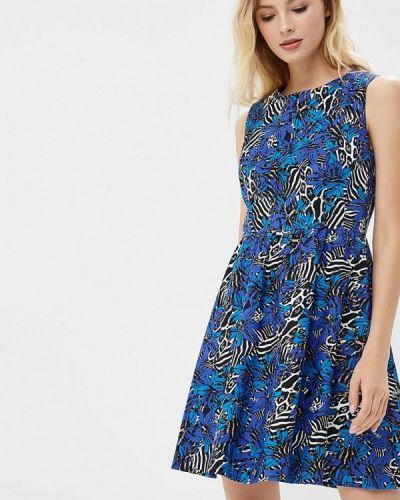 Платье платье-сарафан синее Galina Vasilyeva