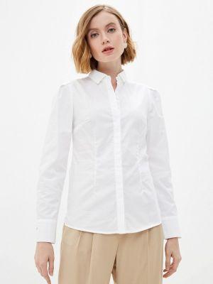 Белая рубашка с длинным рукавом Rivadu