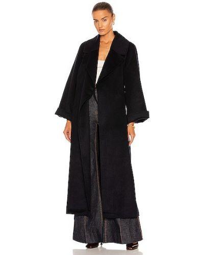 Пальто с поясом Ganni