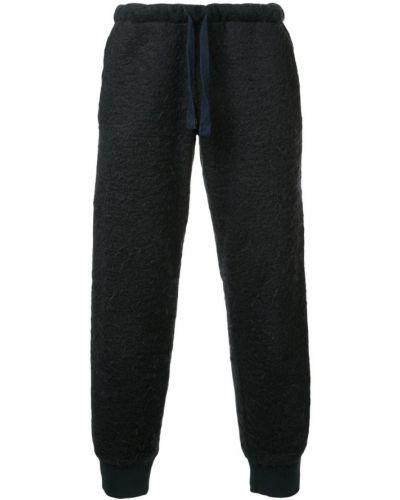 Спортивные брюки синий на шнуровке Walter Van Beirendonck Pre-owned