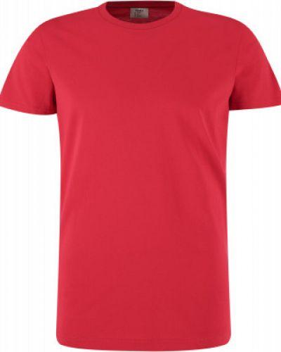 Красная хлопковая футболка Gsd