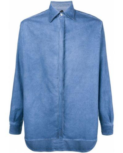 Рубашка синий Poan