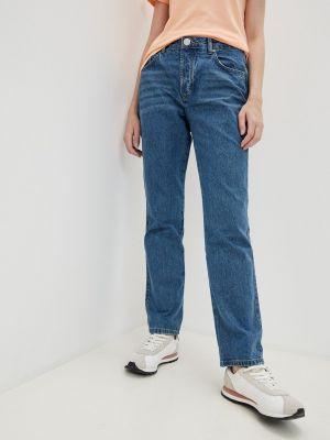 Прямые джинсы - синие One Teaspoon