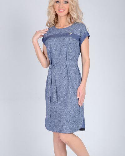 Джинсовое платье с поясом платье-сарафан Open Fashion Premium