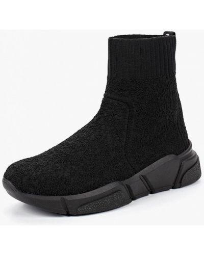 Черные высокие кроссовки Bronx