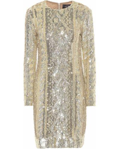 Платье мини с пайетками темный Max Mara
