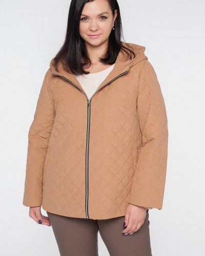Утепленная куртка - бежевая Лимонти