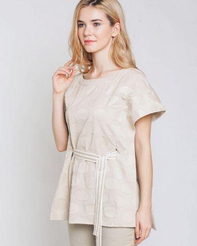 Блузка - бежевая Emi