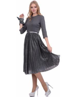 Платье платье-сарафан с длинными рукавами Lautus