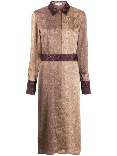 Платье миди на пуговицах классическое Equipment
