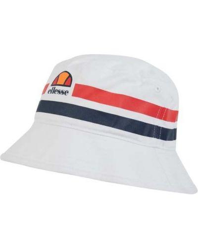 Biała czapka bawełniana Ellesse