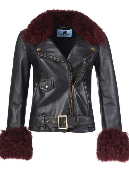 Черная куртка Blumarine