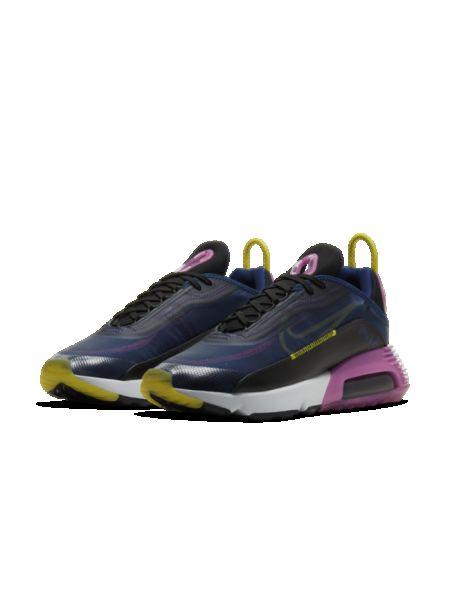Klasyczny półbuty zasznurować niebieski Nike