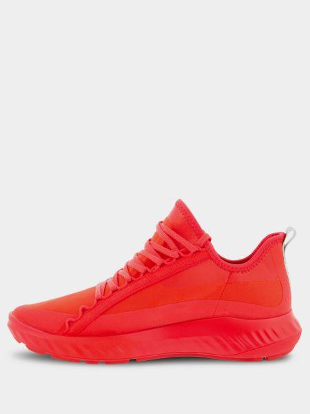Кожаные кроссовки - красные Ecco