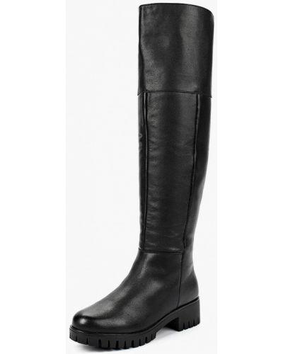 Ботфорты на каблуке кожаные Baden